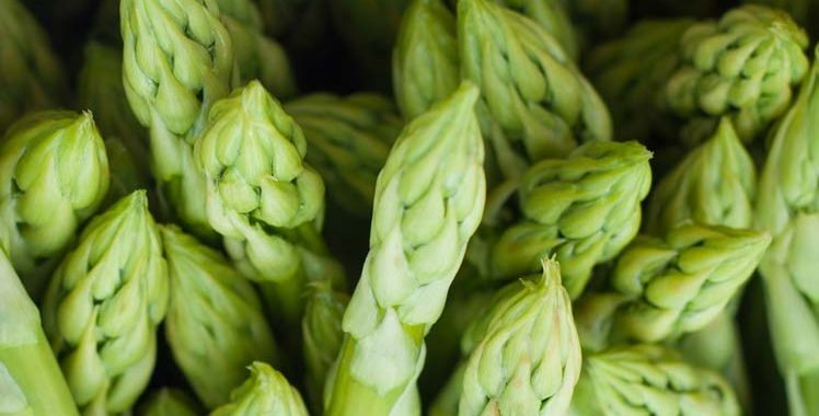 Groene asperges koken